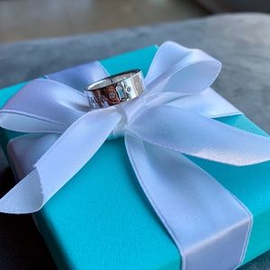 Tiffany & Co. Diamond Lock Ring